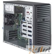 Supermicro SuperServer Mid-Tower [SYS-5039D-i] CPU(1) E3-1200v5/ noHS/ no memory(4)/ on board RAID 0/1/5/10/ internalHDD(4)LFF/ 2xGE/ 3xFH/ 1x300W Gold/ no Backplane, фото 1