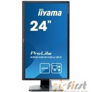 "IIYAMA 24"" XB2483HSU-B3 черный {AMVAA LED 1920x1080 4ms 16:9 3000:1 250cd 178гр/178гр D-Sub HDMI DisplayPort}, фото 1"