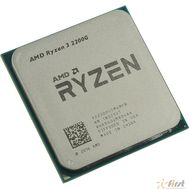 CPU AMD Ryzen 3 2200G OEM {3.5-3.7GHz, 4MB, 65W, AM4, RX Vega Graphics}, фото 1