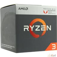 CPU AMD Ryzen 3 2200G BOX {3.5-3.7GHz, 4MB, 65W, AM4, RX Vega Graphics}, фото 1