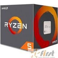 CPU AMD Ryzen 5 1600 BOX {3.4/3.6GHz Boost, 19MB, 65W, AM4}, фото 1