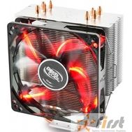 Cooler Deepcool GAMMAXX 400 RED RET [DP-MCH4-GMX400RD] {Soc-775/1366/1155/1156/1150/2011/754/939/940, AM2/АМ2+/АМ3/AM3+/FM1}, фото 1