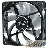 Cooler Deepcool  WIND BLADE 80 [DP-FLED-WB80] {80x80x25 3pin 20db 1800rpm 60g голубой LED}, фото 1