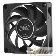 Case fan Deepcool XFAN 70  OEM {70x70x15 3pin+4pin (molex) 27dB}, фото 1