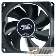 Case fan Deepcool XFAN 80 {80x80x25, Molex, 20dB, 1800rpm, 82g}, фото 1