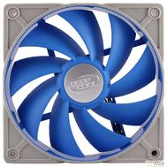 Case fan Deepcool UF 80 RTL  {80х80х25мм Ultra silent, PWM, антивибр. рамка и проставки, супертихий,2Ball} [DP-FUF-UF80], фото 1