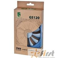 Case fan Deepcool GS 120 RTL {120x120x20, 4pin, 18-32dB, 100g, antivibration low-noise}, фото 1