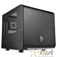Case Tt Core V1  [CA-1B8-00S1WN-00]  mATX/ win/ black/ USB3.0/ no PSU, фото 1