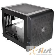 Case Tt Core V21 [CA-1D5-00S1WN-00]  mATX/ win/ black/ USB3.0/ no PSU, фото 1
