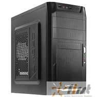 CROWN Корпус MiniTower CMC-400 black mATX (CM-PS450office), фото 1