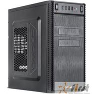 CROWN Корпус MiniTower CMC-403 black mATX (CM-500office), фото 1