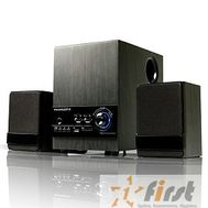 Dialog Progressive AP-170 колонки 2.1 {8W+2*3W RMS,BT, FM, USB+SD reader}, фото 1