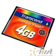 Compact Flash 4Gb Transcend  (TS4GCF133) 133-x, фото 1