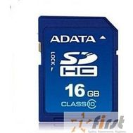 SecureDigital 16Gb A-DATA ASDH16GUICL10-R {SDHC Class 10}, фото 1