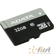 Micro SecureDigital 32Gb A-DATA AUSDH32GUICL10-R {MicroSDHC Class 10 UHS-I}, фото 1