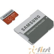 Micro SecureDigital 32Gb Samsung EVO Plus V2 Class 10 MB-MC32GA/RU {MicroSDXC Class 10 UHS-I U1, SD adapter}, фото 1