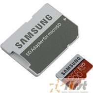 Micro SecureDigital 256Gb Samsung EVO Plus v2 Class 10 MB-MC256GA/RU {MicroSDXC Class 10 UHS-I U3, SD adapter}, фото 1