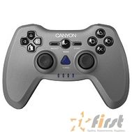 Canyon CNS-GPW6 3in1 wireless gamepad {up to 8 hours of play time, transmission distance up to 10m, rubberized finishing, dual-shock vibration (Compatible with PC, PS2, PS3)}, фото 1