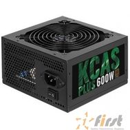 Aerocool 600W RTL KCAS-600PLUS  { 80+ bronze (24+4+4pin) APFC 120mm fan 7xSATA RTL}, фото 1