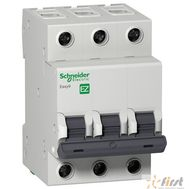 Schneider-electric EZ9F34325 АВТ. ВЫКЛ. EASY 9 3П 25А С 4,5кА 400В =S=, фото 1