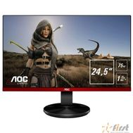 "LCD AOC 24.5"" G2590VXQ черный/красный {TN+film 1920x1080 1ms 75Гц 16:9 170°/160° 250cd D-Sub DisplayPort1.2 HDMI(V1.4)x2}, фото 1"