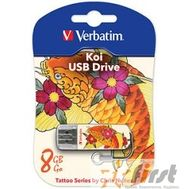 Verbatim USB Drive 8Gb Mini Tattoo Edition Fish 049882 {USB2.0}, фото 1