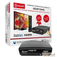 Ресивер DVB-T2 D-Color DC910HD черный, фото 1