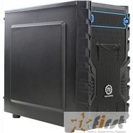 Case Tt Versa H13 mATX/ black/ USB 3.0/ no PSU [CA-1D3-00S1NN-00], фото 1