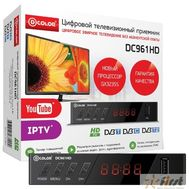 Ресивер DVB-T2 D-Color DC961HD {GX3235S,  DCB-C, DVB-T2 Пластик, RCA, HDMI, USB, WI Fi (Опция)}, фото 1