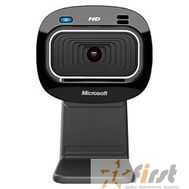 Microsoft LifeCam HD-3000, USB 2.0, 1280*720, автофокус, Mic, Black T3H-00013  RTL, фото 1