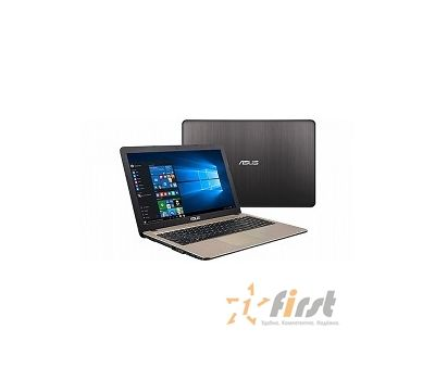 "Asus X540YA-XO047T [90NB0CN1-M00670] black 15.6"" {HD E1-7010/2Gb/500Gb/W10}, фото 1"